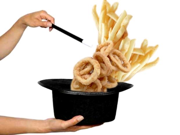 I maghi del fritto... Si può friggere senza olio?