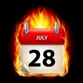 15097879-xxviii-luglio-in-calendario-masterizzazione-icona-su-sfondo-nero