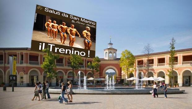 Il trenino di San Marino